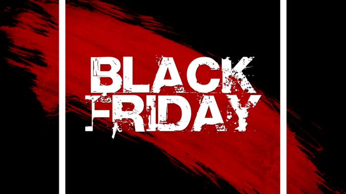 Black fredag banner