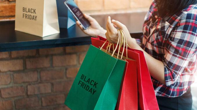 Shopping poser til Black Friday